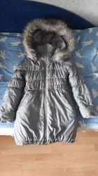 Зимнее пальто Бемби, рост 140