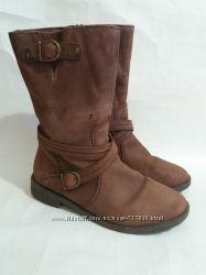Ботинки кожаные размер 37