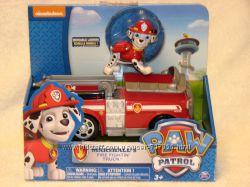 SPIN MASTER Щенячий патруль Маршалл в пожарной машине PAW PATROL 16601