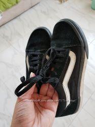 Кеды Vans 33 размер или 2. 5, по стельке- 20, 5 см, оригинальные Венс кожа