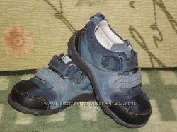 Фирменные, кожаные туфли Clarks, Кларкс, размер 5G, стелька 13, 5-14 см