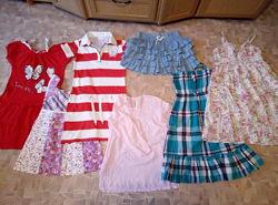 Одежда для девочки, пакетом