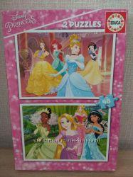 Пазлы с диснеевскими принцесами в отличном состоянии
