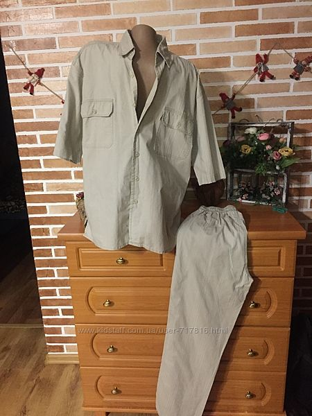 Новый качественный мужской костюм от Pacifico 48-50 размер.