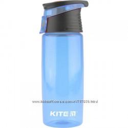 Бутылочка для воды Kite K18-401-04 550 мл голубая
