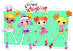 Lalaloopsy Workshop Mix N Match миксуй та комбинуй