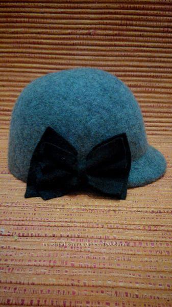 Шляпка H&M валяная