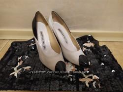 Туфли 37-38 размер молочние