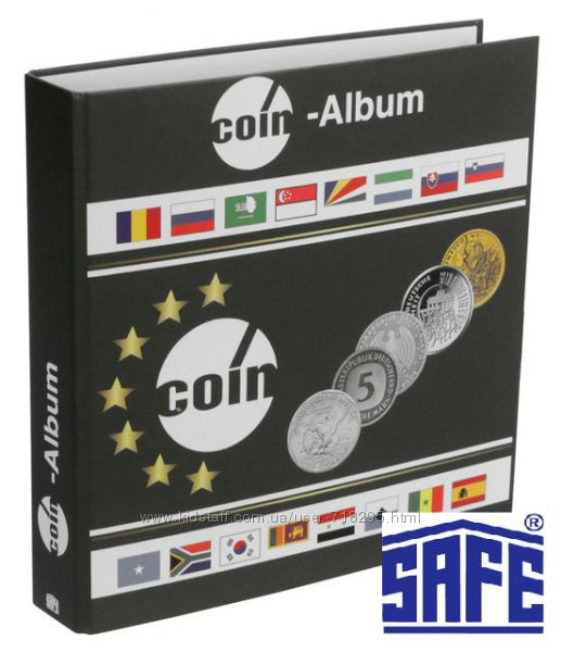Альбом для монет и банкнот - SAFE