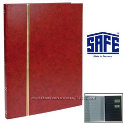 Альбом для марок 16 страниц. Формат А4. Кляссер SAFE Сделано в Германии