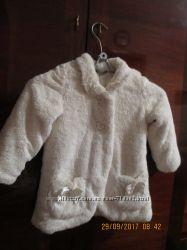 George. Деми шуба, куртка, пальто для девочки 3-4 года.
