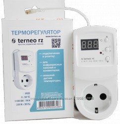Терморегулятор электронный  TERMOPLAZA TR