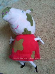 Мягкая игрушка свинка Пеппа 42см