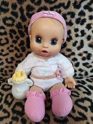 Кукла пупс baby alive с бутылочкой