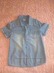 Шикарная рубашка от chicco для мальчика
