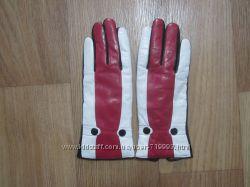 Перчатки женские кожзам