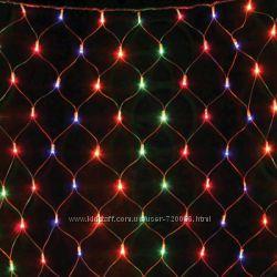 Гирлянда светодиодная Сетка L240 мульти