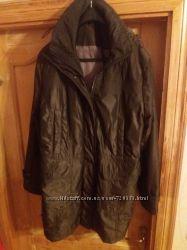Женская удлинённая куртка, полупальто  большого размера