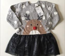 Next  в наличии платье новогоднее
