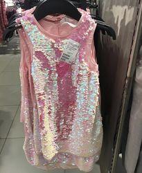Платье туника h&m в наличии новые 2019