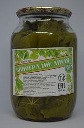 Виноградные листья для долмы 1 л Бесплатная доставка по Киеву от 700 грн