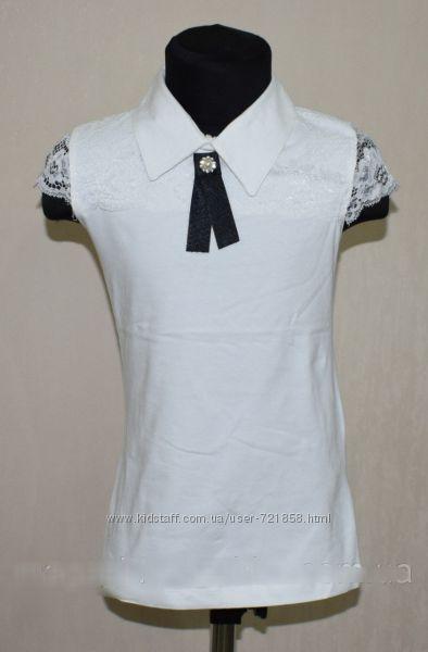 Блузка хлопок гипюр