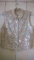 Нарядная фирменная блузка TOPSHOP