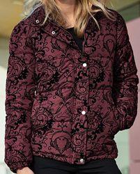 Куртка с принтом и капюшоном