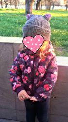 Стильная деми куртка H&M для девочки 1, -5 года 92 см в идеальном состоянии