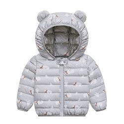 Стильные куртки с ушками и милым принтом разные цвета 80-120 см мальчику, д