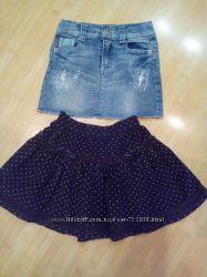 стильные теплые  юбочки и нарядные юбочки на  модняшку 2-6 лет