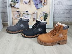 Зимние ботинки тимберленд коричневые черные серые