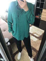 Стильная рубашка блуза из поплина Mango