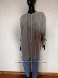 Стильная шелковая блуза