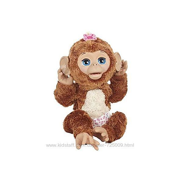 Интерактивная игрушка Смешливая обезьянка Hasbro