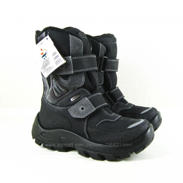 Термо-ботинки  Kapika, Флоаре, шерсть, кожа, мембрана,  р. 35-40