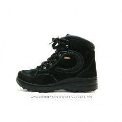 Термо-ботинки Тигина, кожа, шерсть,   р. 36-41