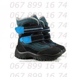 Термо-ботинки Капика-Флоаре, шерсть, кожа, р. 24-28