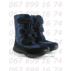 Термо-ботинки Тигина, шерсть. кожа, р. 28-37