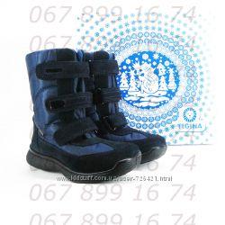 Термо-ботинки Тигина, шерсть, кожа, р. 28-37