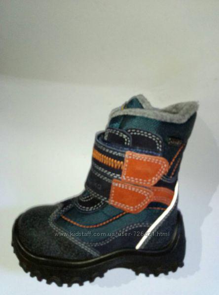 Термо-ботинки Капика-Флоаре, шерсть, кожа, р. 24-26