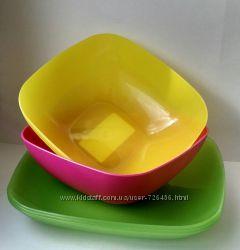Качественная пластиковая посуда Алеана