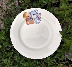 Мелкие тарелки для садиков, школ