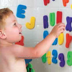Набор стикеров для игры в ванной - Цифры и буквы английского алфавита