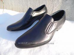 Классические мужские туфли. Новые. Натуральная кожа.