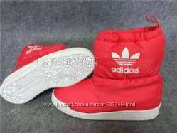 Adidas тёплые сапожки зима