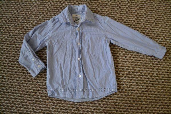 Рубашка Palomino 104 в голубую полоску