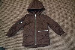 Reima зимняя куртка парка пуховик 116-122