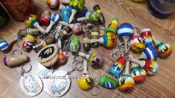 Сувениры . Брелки с Кубы