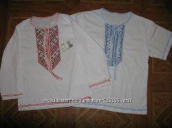 Вышиванка для мальчиков короткий и длинный рукав. р. от 104см до 146см